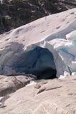 Gletschersprünge Lizenzfreies Stockfoto