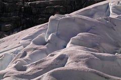 Gletschersprünge Lizenzfreie Stockfotografie