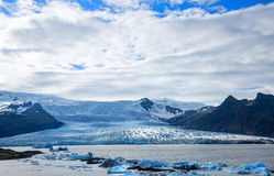 Gletscherzunge Lizenzfreie Stockbilder