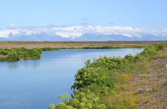 Gletsjer Royalty-vrije Stock Foto
