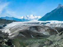 Gletsjer in Alaska Stock Foto