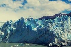 Gletsjer in Argentinië Stock Afbeelding
