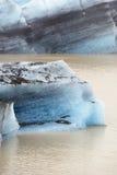 Gletsjer in baai Royalty-vrije Stock Foto's