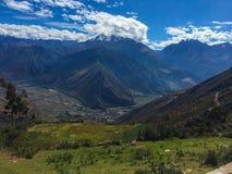Gletsjer in de Andes Royalty-vrije Stock Afbeelding