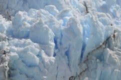 GLETSJER EN HET GLOBALE VERWARMEN PERITO MORENO IN GR CALAFATE PATAGONIË ARGENTINIË Royalty-vrije Stock Afbeeldingen