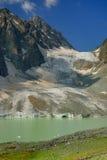 Gletsjer en Meer Royalty-vrije Stock Foto's