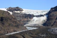 Gletsjer in IJsland stock afbeeldingen