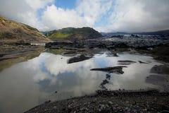 Gletsjer in IJsland Royalty-vrije Stock Afbeelding