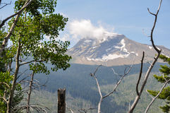 Gletsjer Nationaal Park, gaan-aan-de-zon-Weg, Montana, de V.S. Stock Fotografie