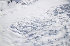 Gletsjer in Nieuw Zeeland Stock Afbeeldingen