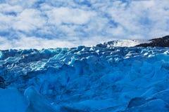 Gletsjer in Noorwegen Royalty-vrije Stock Foto