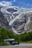 Gletsjer Noorwegen Kjenndalen, Mooi landschap van Noorwegen, Scandinavië Stock Afbeelding
