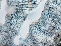Gletsjer Noorwegen van het Jotunheimen de Nationale Park Stock Afbeeldingen