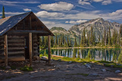 Gletsjer NP, Canada Stock Foto