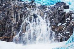 Gletsjer op Alaska Royalty-vrije Stock Foto's