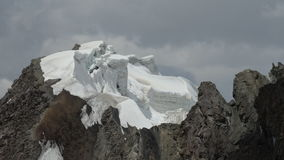 gletsjer Pamir Royalty-vrije Stock Fotografie