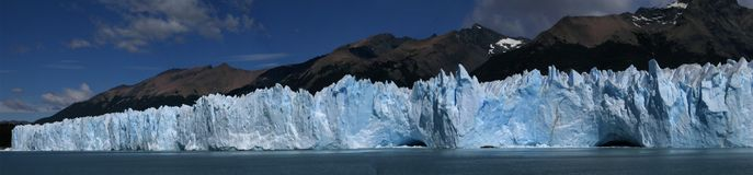 Gletsjer, Patagonië, Argentinië Royalty-vrije Stock Foto