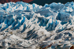 Gletsjer Perito Moreno Stock Afbeeldingen