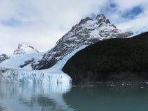 Gletsjer Spegazzini royalty-vrije stock fotografie