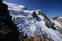 Gletsjer Steigletscher Royalty-vrije Stock Foto's