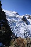 Gletsjer Steigletscher Stock Afbeeldingen