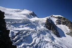 Gletsjer Steigletscher Royalty-vrije Stock Afbeelding
