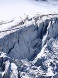 Gletsjer Steigletscher Stock Afbeelding