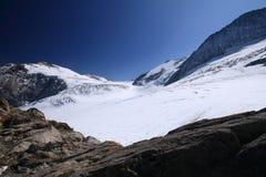 Gletsjer Steigletscher Royalty-vrije Stock Foto