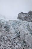 Gletsjer in Tibet Stock Foto