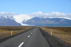 Gletsjer Vatnajokull Stock Fotografie