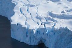 Gletsjereindpunt Royalty-vrije Stock Fotografie