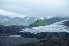 Gletsjergang Royalty-vrije Stock Afbeeldingen