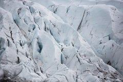Gletsjerijs stock fotografie
