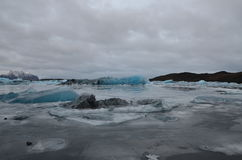 Gletsjerlagune stock foto