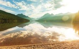 Gletsjerpark Stock Foto