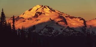 Gletsjerpiek Royalty-vrije Stock Afbeelding