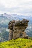Gletsjerpunt Yosemite Stock Foto's