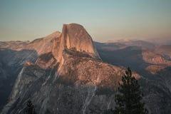 Gletsjerpunt in Yosemite-Park Royalty-vrije Stock Foto
