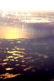 Gletsjers in de hemel Stock Afbeeldingen
