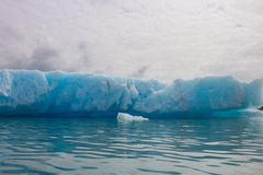 Gletsjers in het nationale park van kenaifyords bij beergletsjer bij het kayaking van reis Royalty-vrije Stock Foto