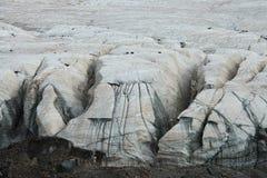 Gletsjers op Heilige sneeuwberg Anymachen op Tibetaans Plateau, headstream van Gele Rivier, Qinghai, China Stock Foto's