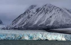 Gletsjers van Svalbard/Spitsbergen royalty-vrije stock foto's