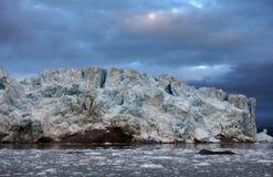 Gletsjers van Svalbard/Spitsbergen stock fotografie