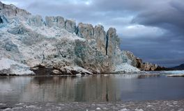Gletsjers van Svalbard/Spitsbergen royalty-vrije stock foto
