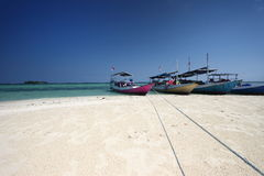 Gleyang wyspa Karimunjava Fotografia Stock