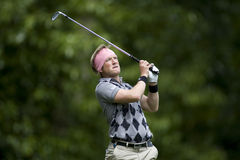 GLF :欧洲游览BMW PGA冠军 库存照片
