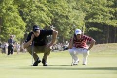 GLF :欧洲游览BMW PGA冠军 免版税库存图片