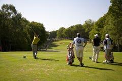 GLF: Campeonato europeo de BMW PGA del viaje Imagen de archivo libre de regalías