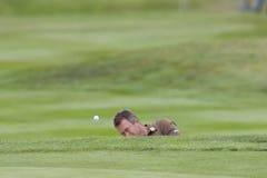 GLF: Campeonato europeu de BMW PGA da excursão imagens de stock
