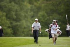 GLF: Europén turnerar den BMW PGA mästerskapet Royaltyfria Foton